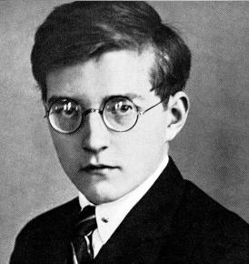 Dmitri Shostakovich en 1935
