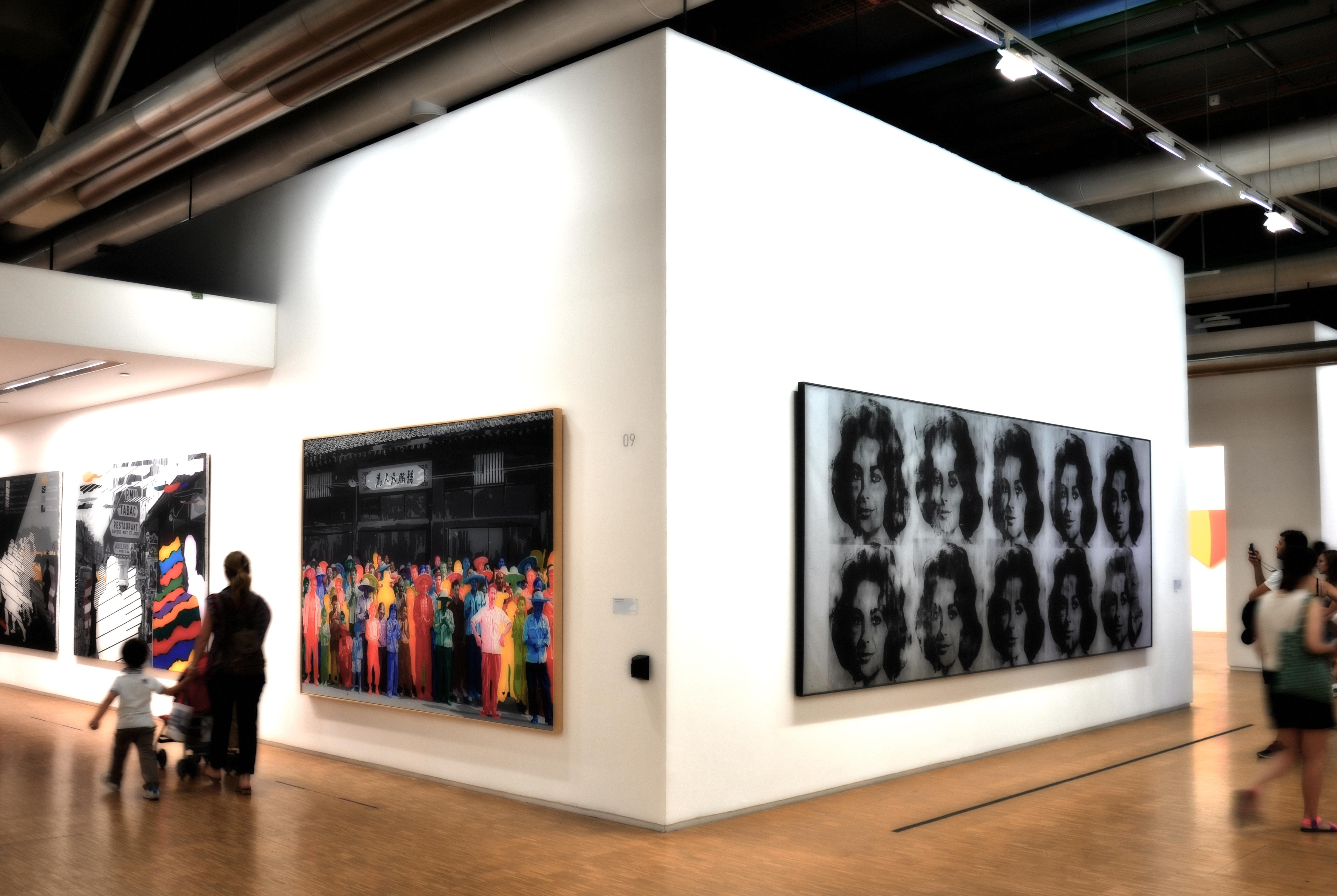 Vouz aimez?, de Gerard Fromanger, y Lizes, de Andy Warhol.