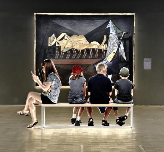 De nuevo, L'Aubade, de Picasso.