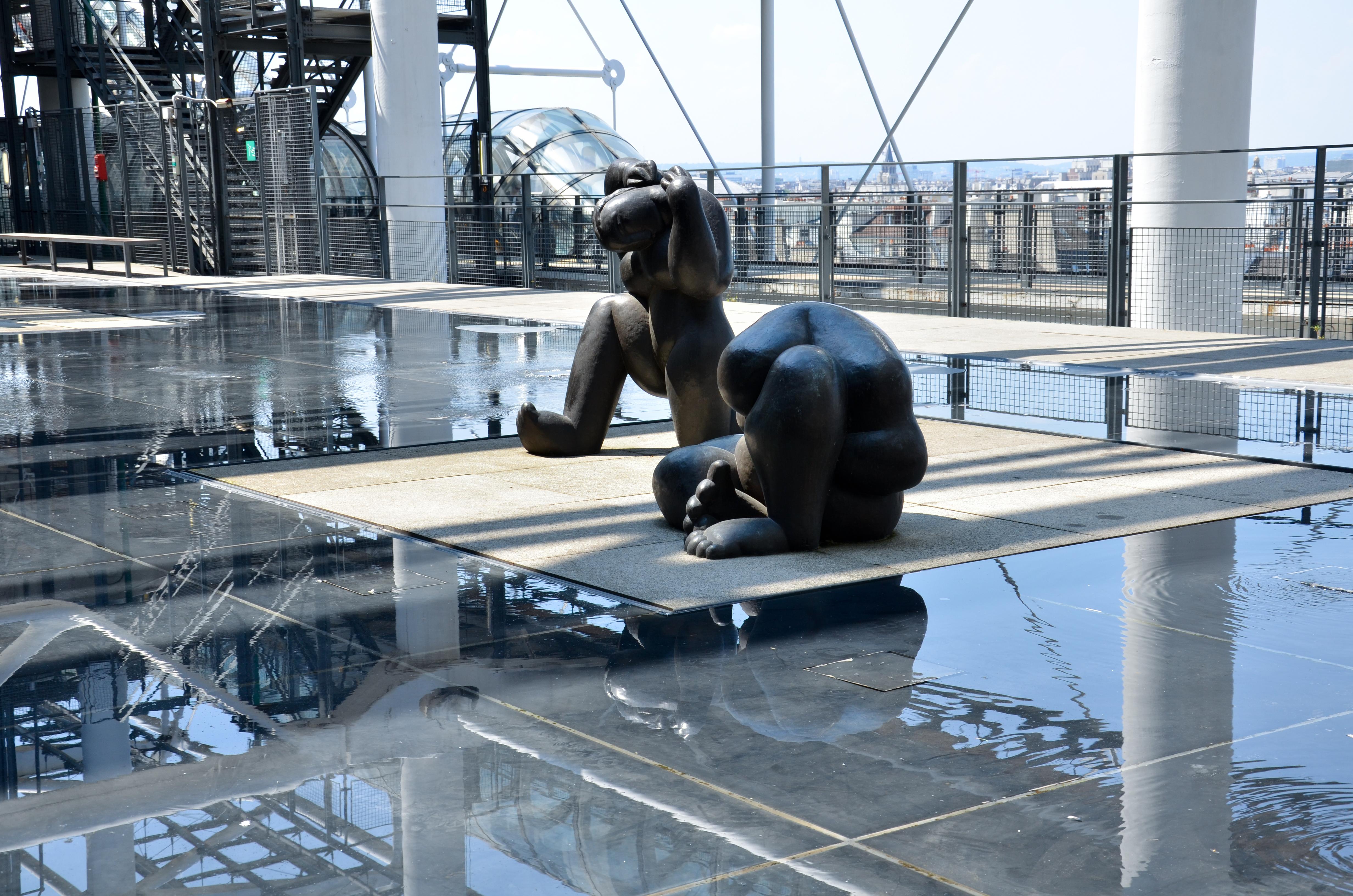 Terraza de las esculturas. (c) Arturo Guillaumín/2013.