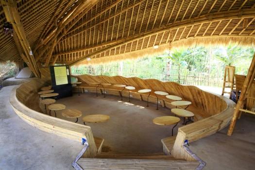 Green School en Bali: otro salón de clases.