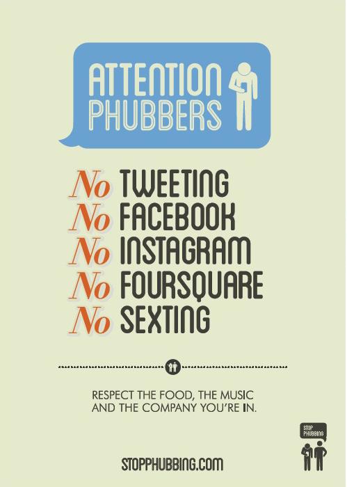 Poster 02 Stop Phubbing