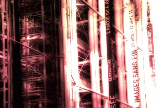 Fachada Pompidou