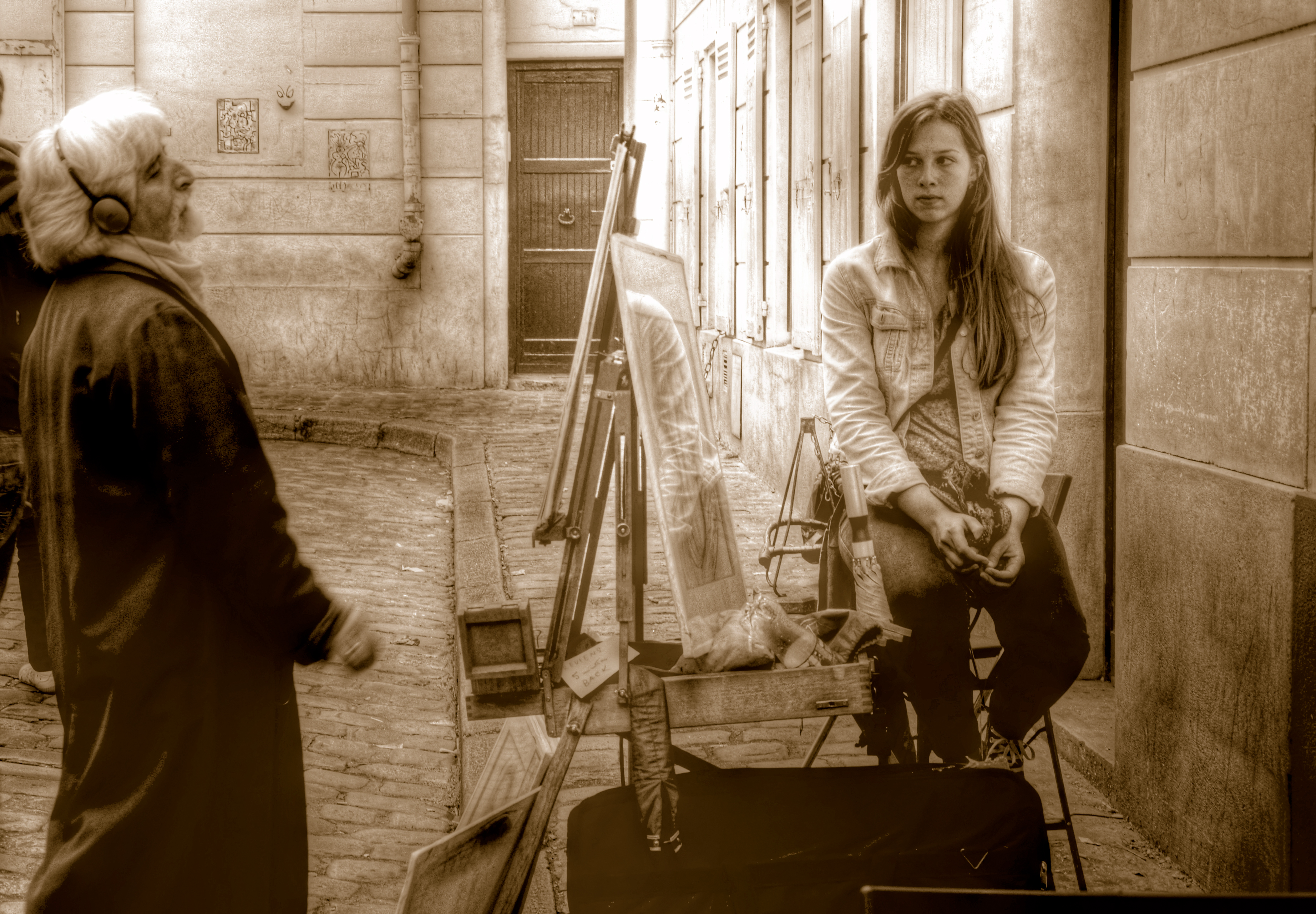 Pintor Place du Tertre