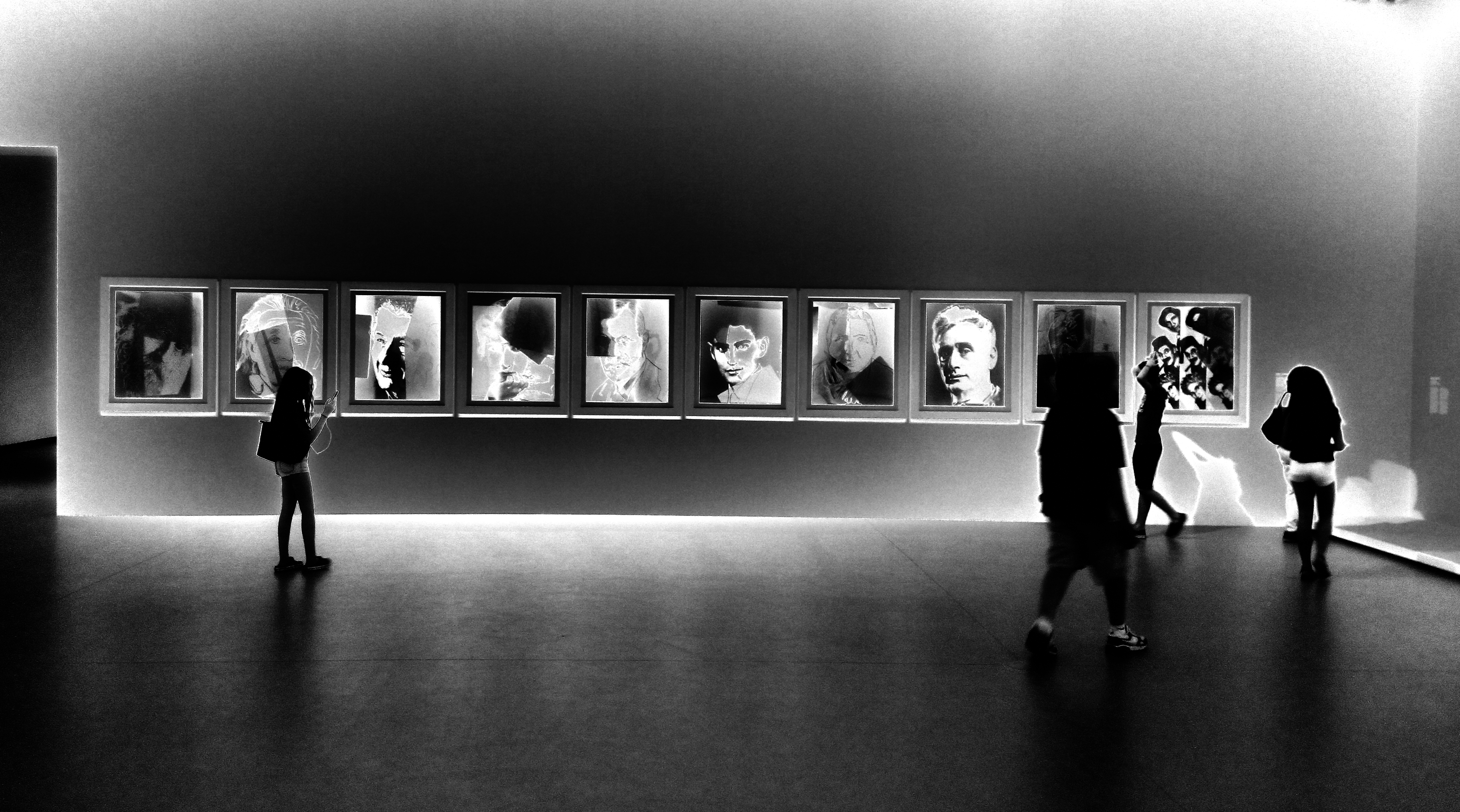 Una de las galerías de la Fundación. (Foto: © Arturo Guillaumín T. / 2015)