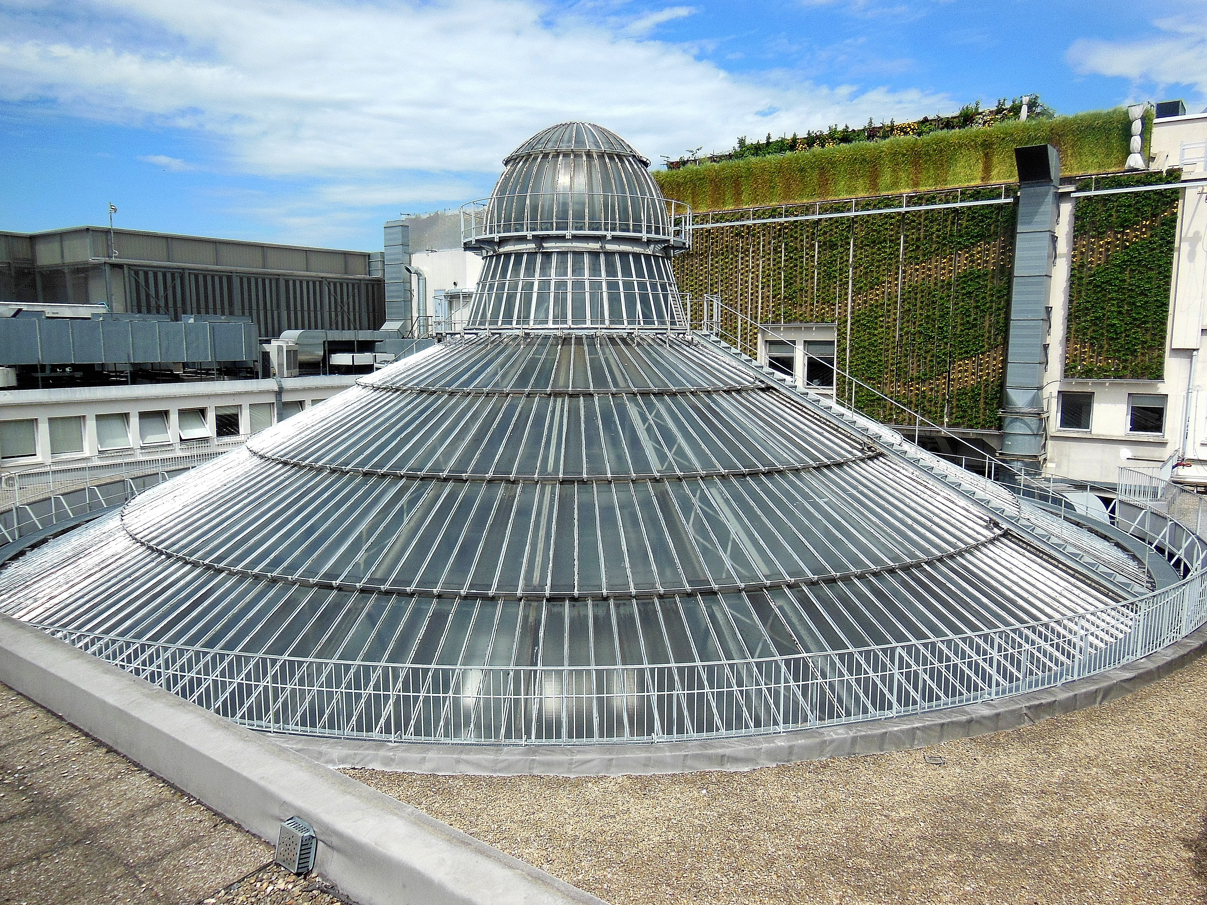 La cúpula por afuera.