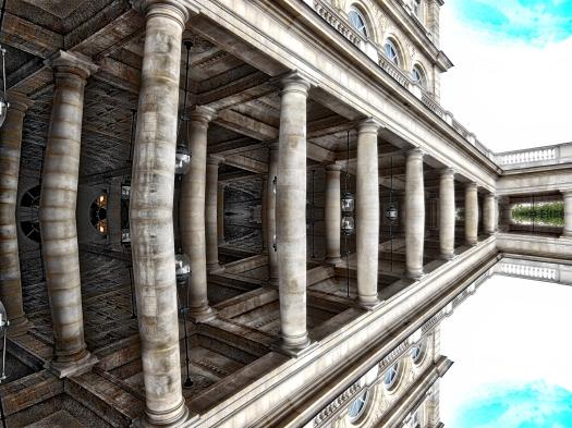 Columnas con reflejo # 1