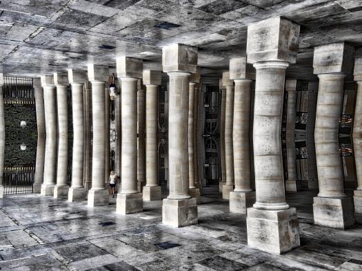Columnas con reflejo # 5