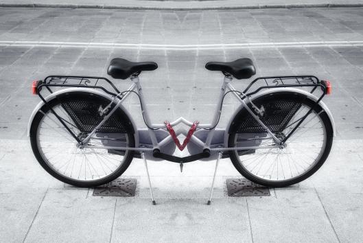 Bicicleta que no va a ninguna parte.