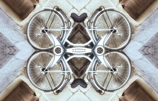 Bicicleta todo-terreno.