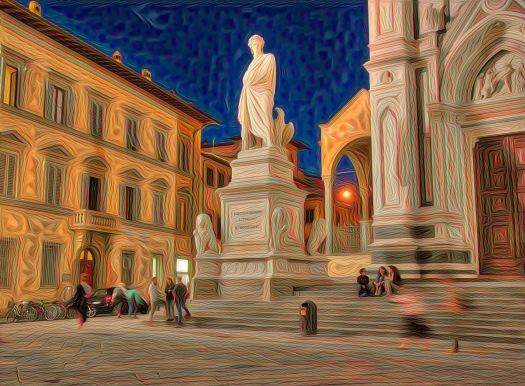 Estatua de Dante