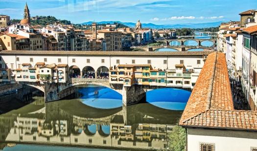 Los Puentes desde Uffizi