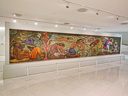 Mural Baño en el Río
